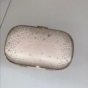 Express embellished clutch